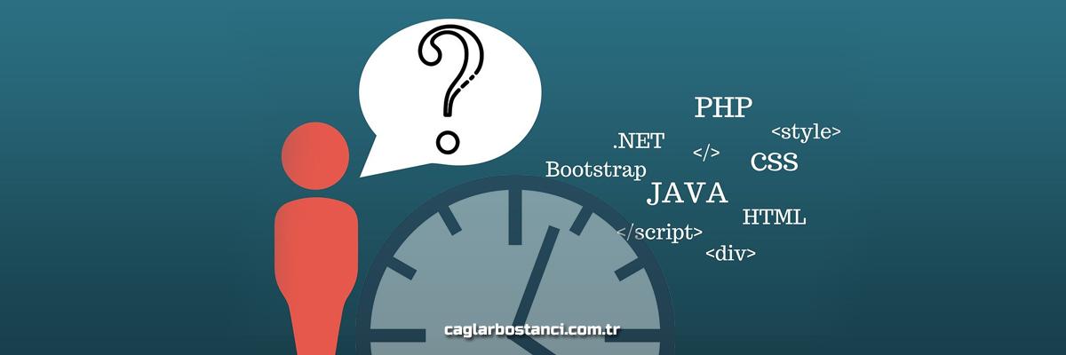 PHP ZAMAN FONKSİYONLARI